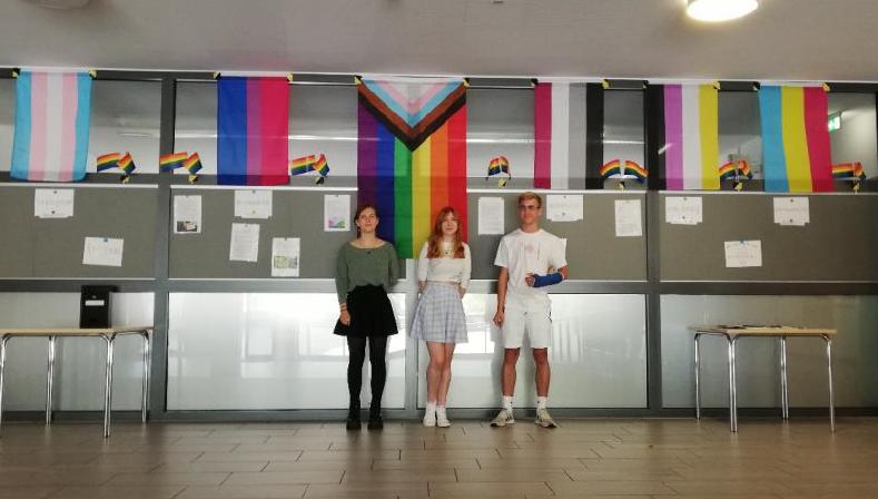 SMV Pride-Aktion